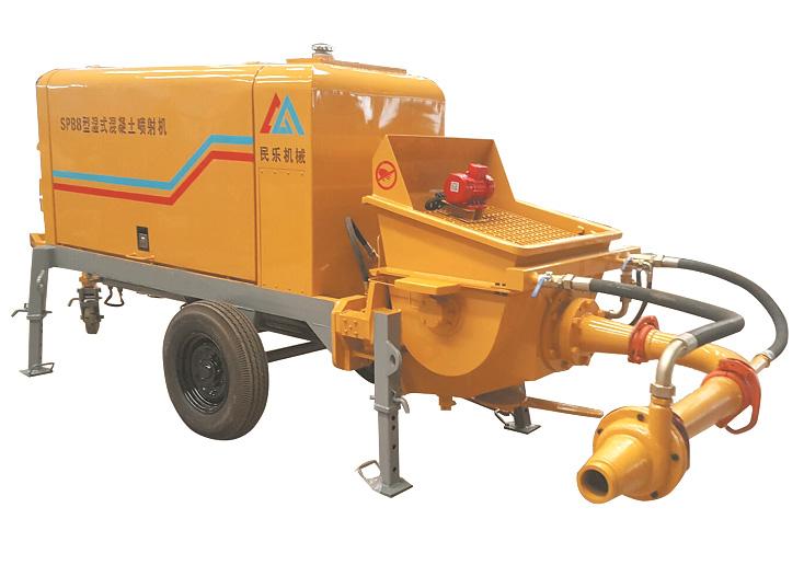 湿式混凝土喷射机