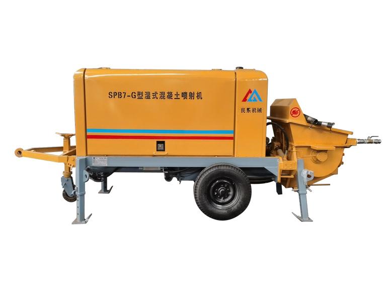SPB7矿用湿式混凝土喷射机